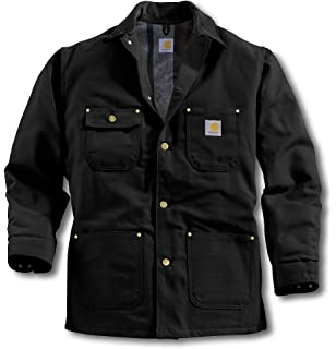 34248b7ae8 Amazon.com: Carhartt Men's Big & Tall Blanket Lined Duck Chore Coat ...