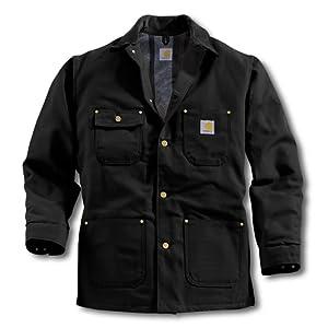 Carhartt C01 Chore Coat - Veste de travail traditionnelle - noir