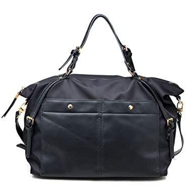 a9308d0f14a Amazon.com: Sol and Selene Women's Trendsetter Tote Gym, Black One Size:  Clothing