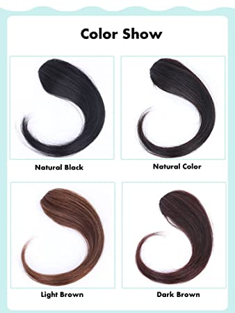 Amazon.com : VEMLY 100% Human Hair Extensions Invisible Clip in ...