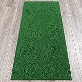 Ottomanson Garden Collection Solid Grass Design Runner Rug, 20