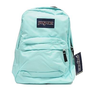 Amazon.com: JanSport T501 Superbreak Backpack - Aqua Dash: Sports ...