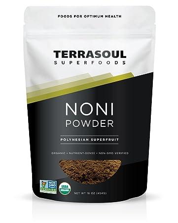 Terrasoul Superfoods Organic Noni Fruit Powder, 16 Ounces