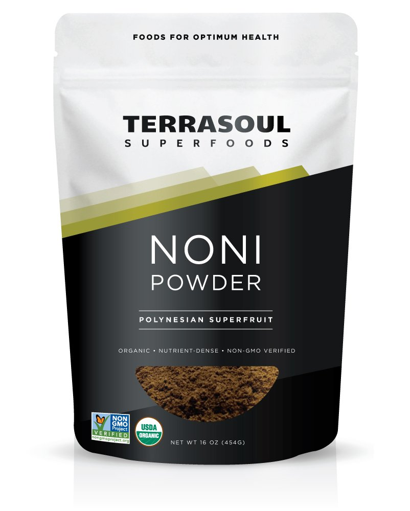 Terrasoul Superfoods Organic Noni Fruit Powder, 16 Ounces by Terrasoul Superfoods (Image #1)