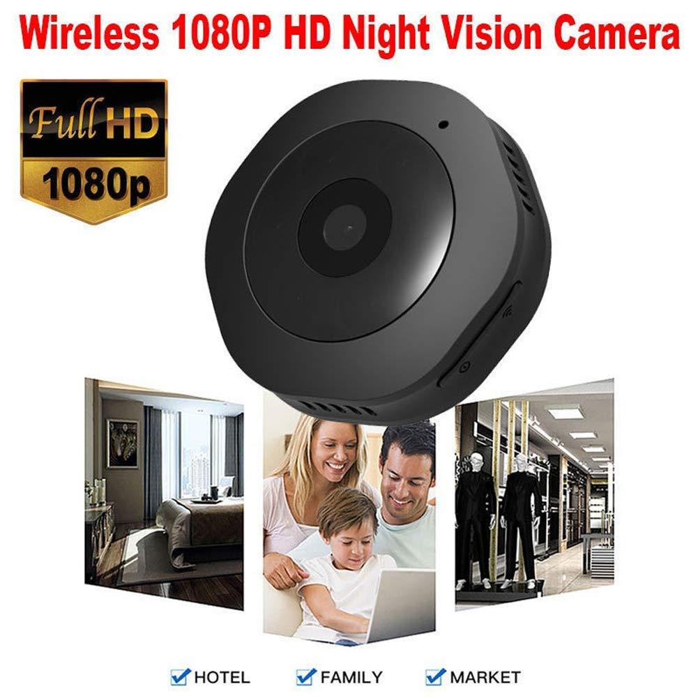 Cámara Oculta Mini espía, NIYPS 1080P Cámara de vigilancia inalámbrica HD para el hogar con visión Nocturna y detección de Movimiento, cámara compacta para ...