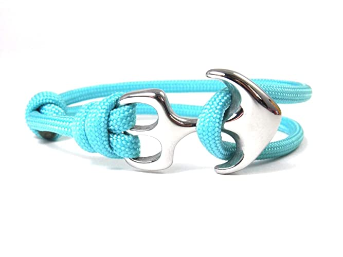 Anker Armband-Maritimes Armband-Edelstahl Anker-Surfer Armband-Unisex