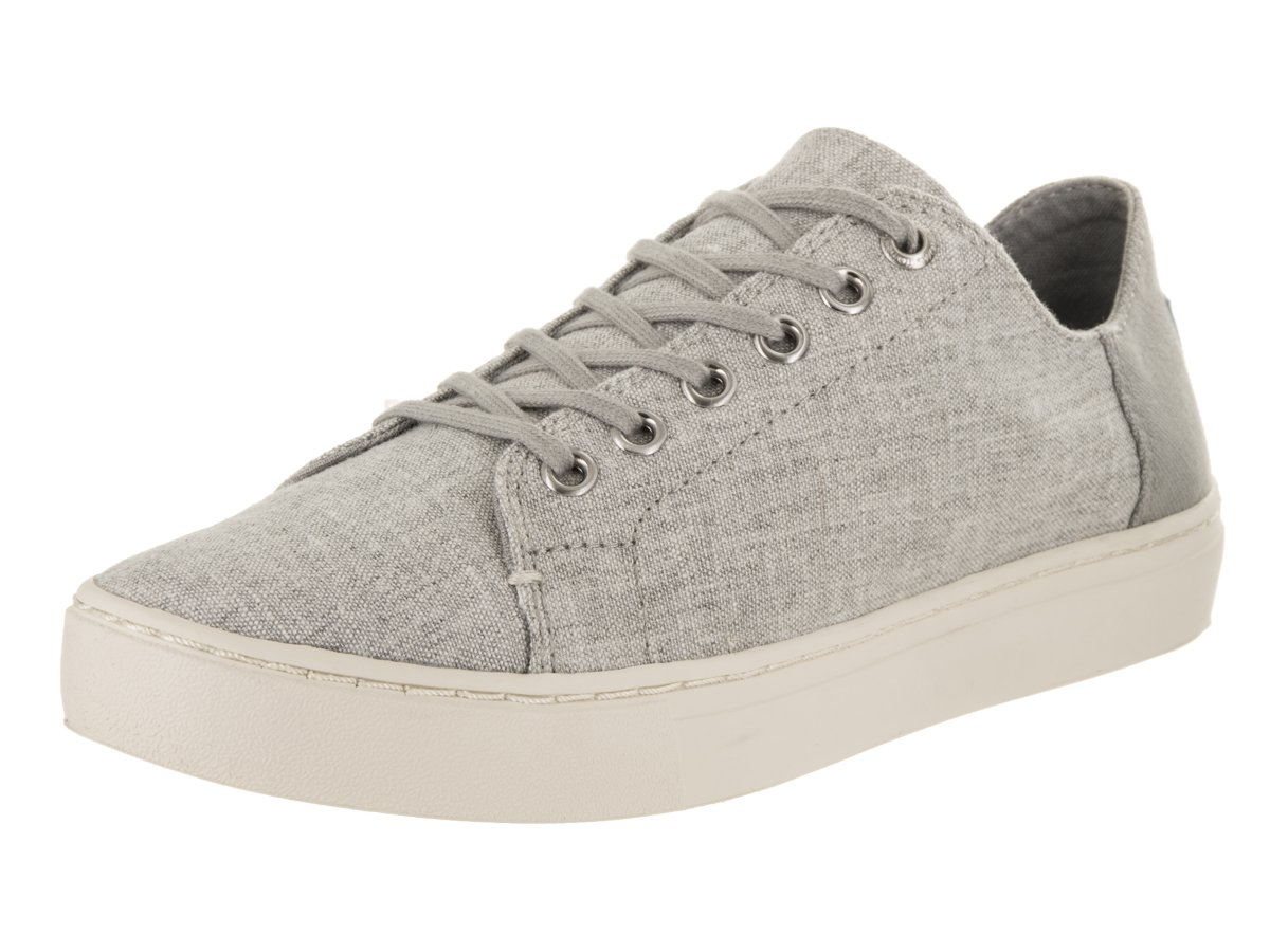 TOMS Lenox Shoe Drizzle Grey Slub Chambray Talla 8.5 D (M) US dYFzK