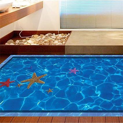 Amazon.com: Cinlla Wall Stickers 3D Swimming Pool Decorative Wall ...