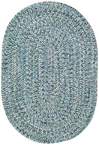 Amazon Com Capel Rugs Sea Pottery Oval Braided Area Rug