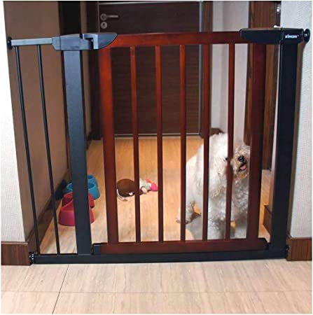Barreras de puerta Barrera De Seguridad For Mascotas Extensible for Bebés Bar Escalera Barandilla Cerca Paseo