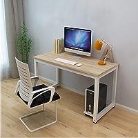Dripex Schreibtisch 115x60x74cm Computertisch, PC-Tisch für Bürotisch Arbeitstisch Officetisch Stabile Konstruktion Tisch