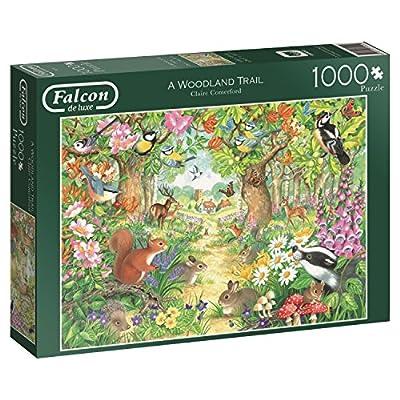 Jumbo 611155 Puzzle Sentiero Nel Bosco