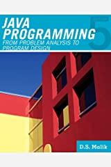 Java™ Programming: From Problem Analysis to Program Design (Introduction to Programming) Paperback