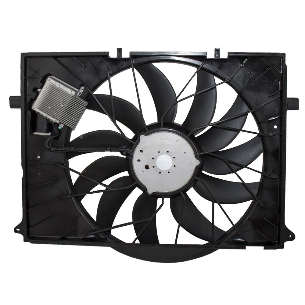 Radiator Cooling Fan Assembly Replacement For Mercedes Flexalite Electric Black Magic Series Coximportcom A Benz Cl Class S Sl 220500029328 Automotive