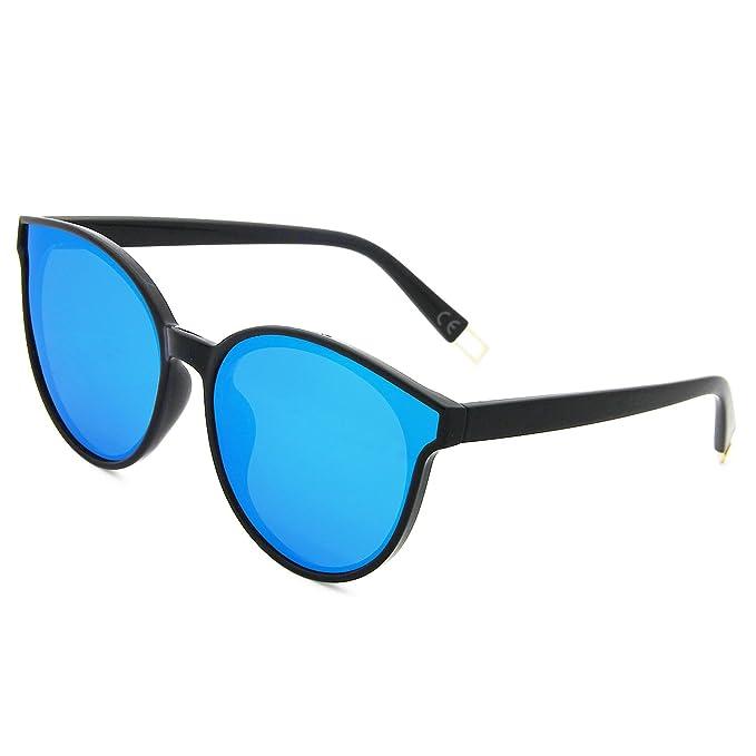 91aaad3a7a AMZTM Gafas de sol Vendimia Retro para Mujer Gafas de Ojos de Gato  Polarizadas Clásicas Moda Espejo Lente ...