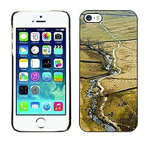 Print Motif Coque de protection Case Cover // M00158999 Cercos paisaje de primavera y verano // Apple iPhone 5 5S 5G