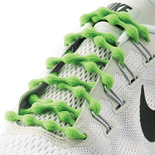(Caterpy Laces - The Ultimate No Tie Shoelaces (Cactus Green))