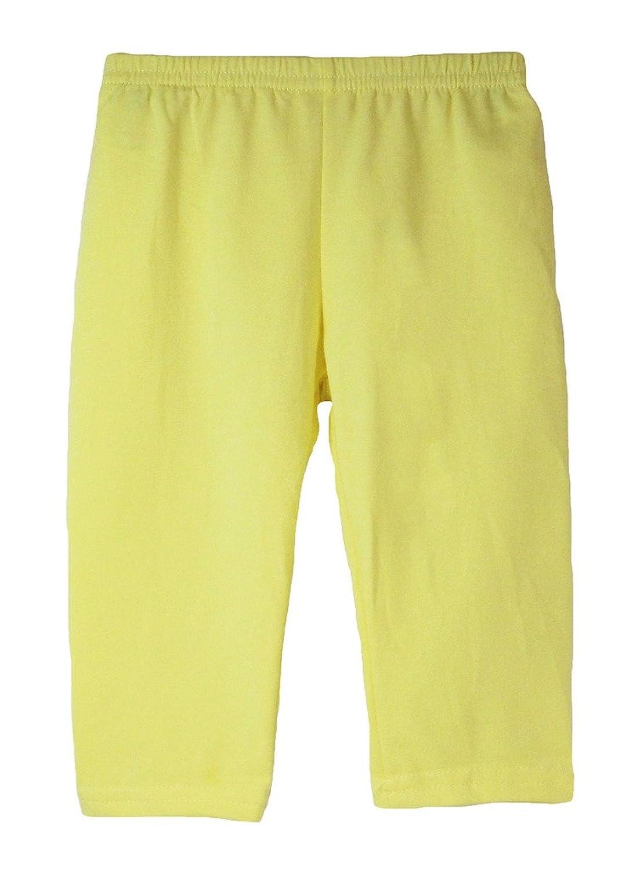 Wholesale Princess Light Yellow Lightweight Cotton Capris