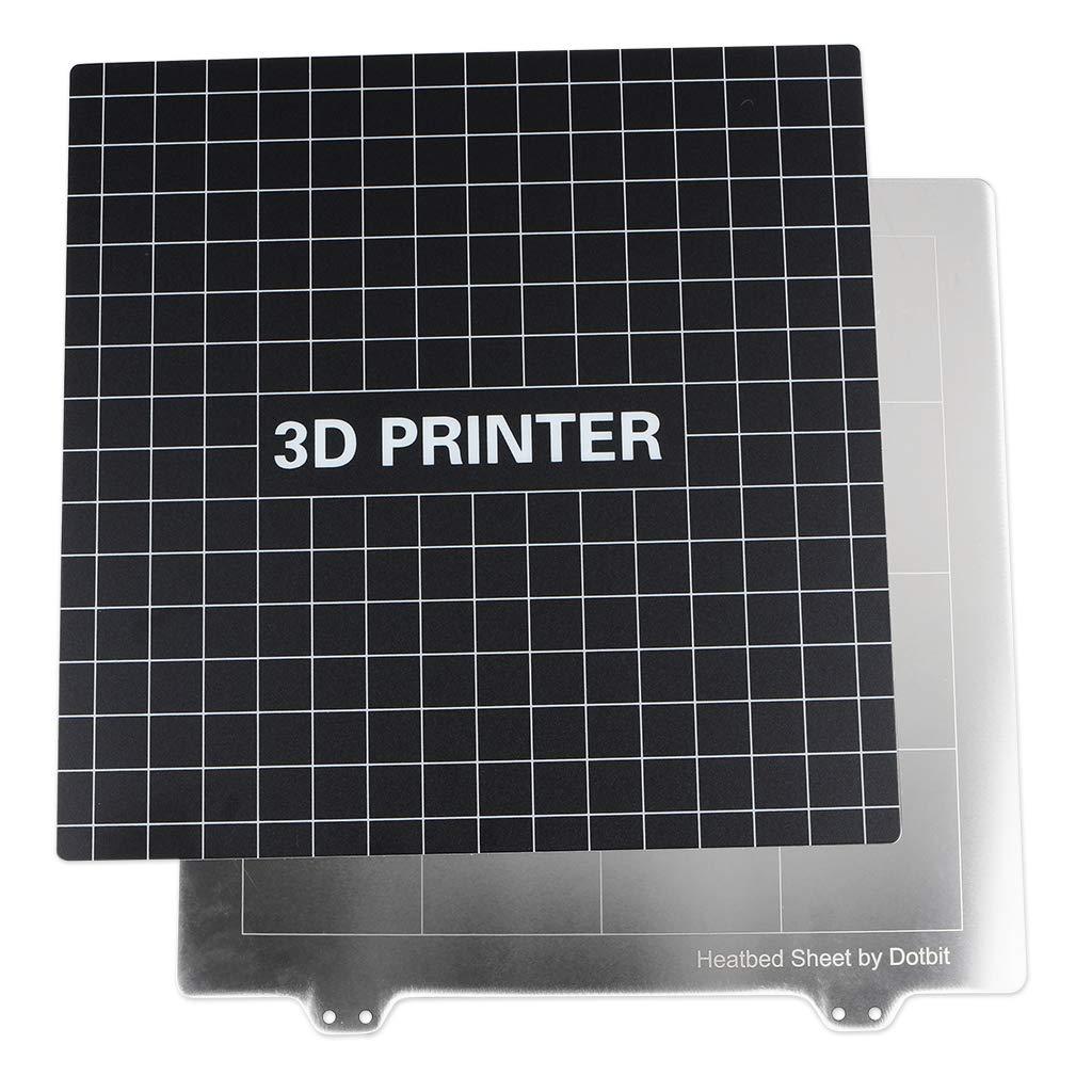 Impresora 3D Cama Calentada de Hierro de Acero de Resorte con ...