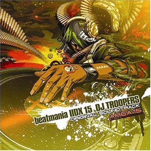 beatmania 2DX 15 DJ TROOPERS ORIGINAL SOUNDTRACKの商品画像