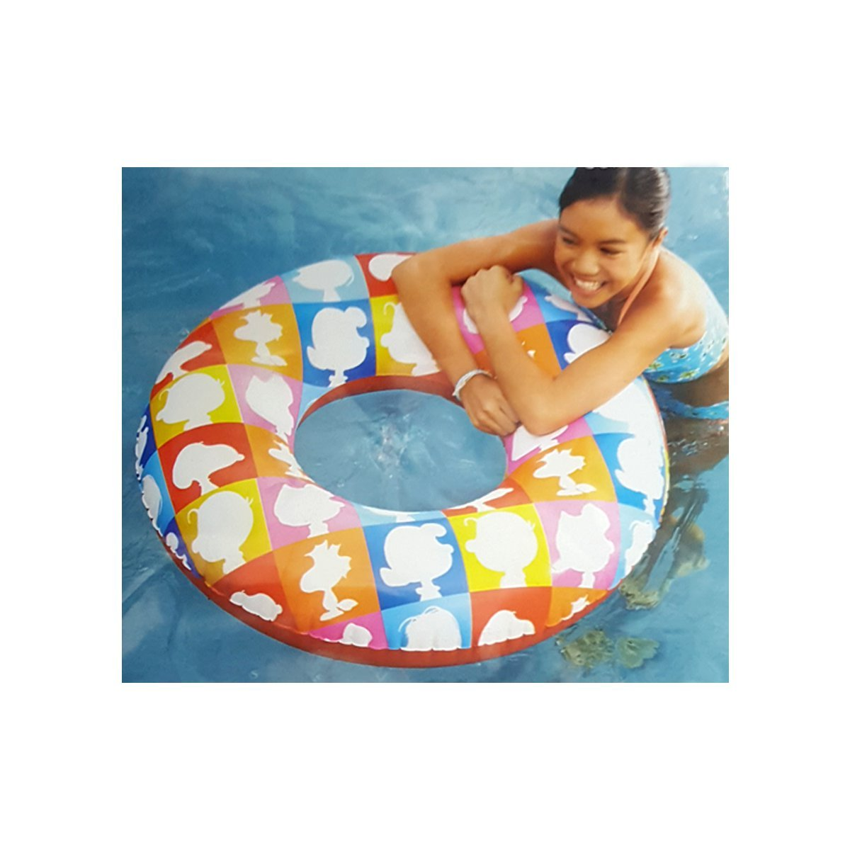 Snoopy and Peanuts Gang 36'' Inflatable Swim Tube Ring