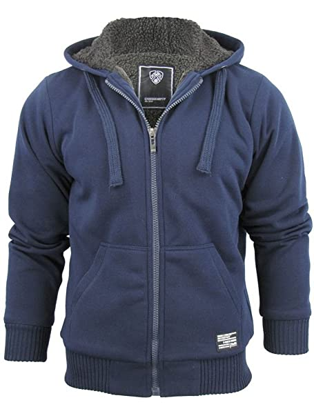 2b4f06d7f25a8 Kaisar Borg Lined Hoodie in Navy - Le Shark -L  Amazon.co.uk  Clothing