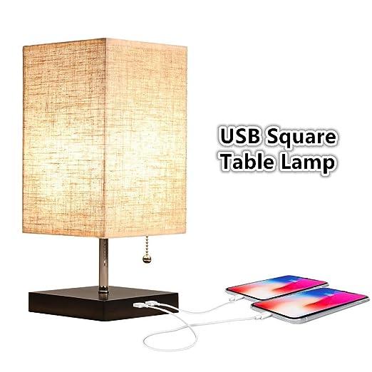 Amazon.com: Blppldyci Lámpara de escritorio USB, diseño ...