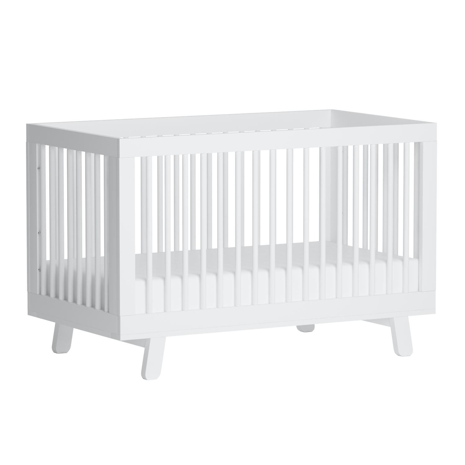 Babyletto Hudson 3-in-1 Convertible Crib with Toddler Bed Conversion Kit, White by babyletto (Image #10)