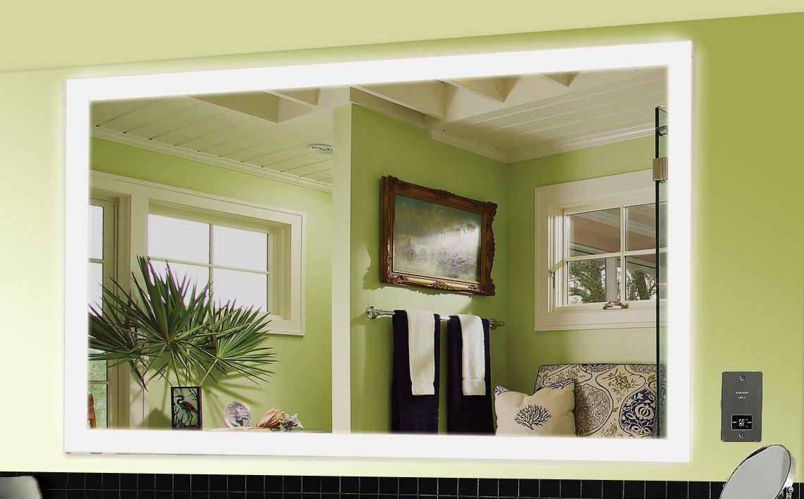 Lille Spiegel mit LED Beleuchtung Badspiegel - 160 cm x 80 cm ...