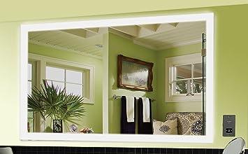 Spiegel 100 Cm : Lille spiegel mit led beleuchtung badspiegel cm cm