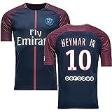 jtjrb Neymar 10 Soccer Jersey PSG Home 17/18 Jr Mens Blue Size M