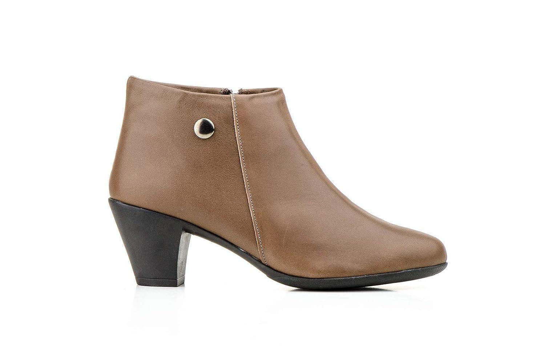 Schuhe-estil, Damen Stiefel & Stiefeletten Braun Braun Braun Taupe 1000e6