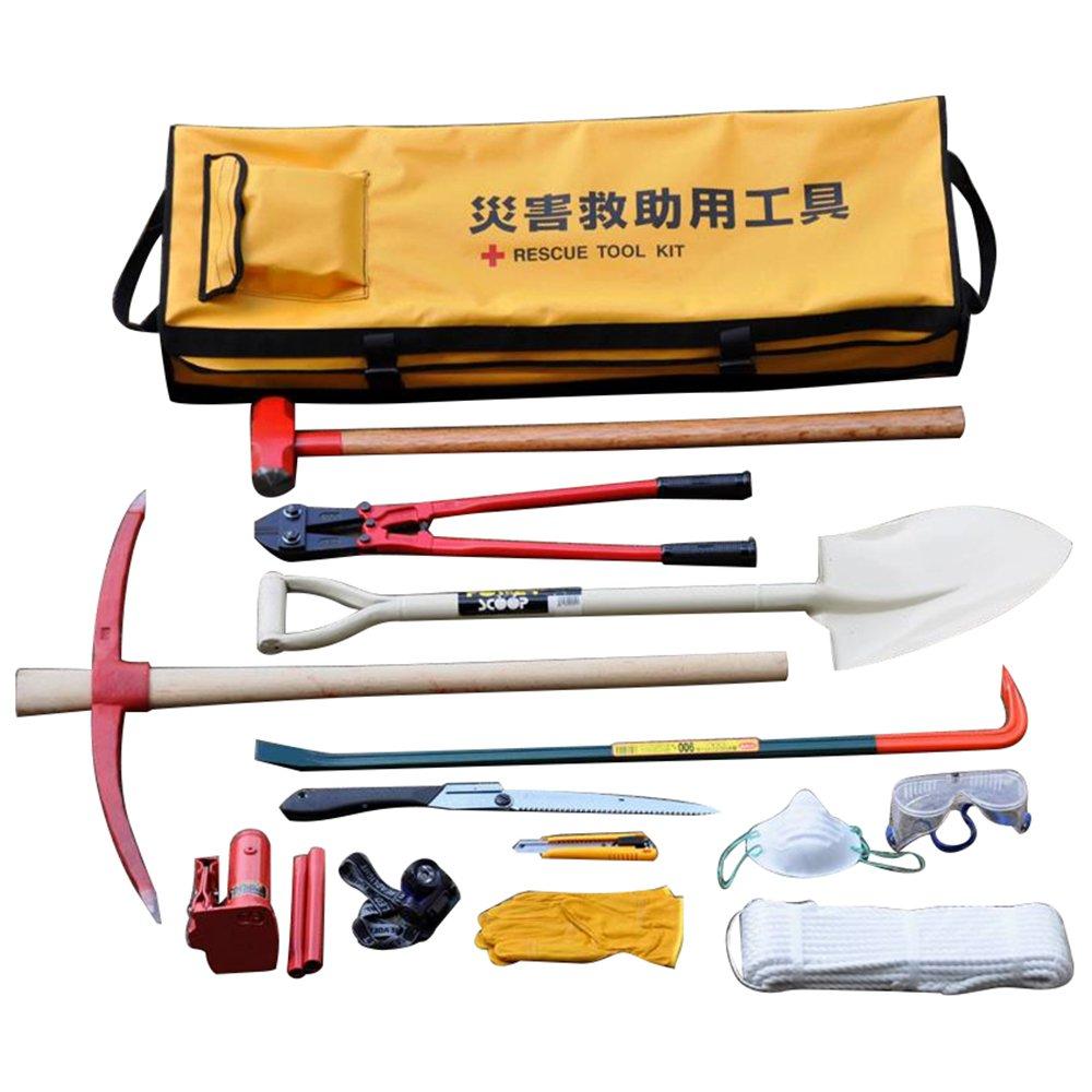 アイガーツール 災害救助用工具セット 21点 ERT21 B00C02K4VQ