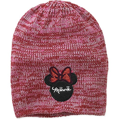 Disney Minnie Mouse Women's Marled Slouch - Mickey Mouse Hoodie Hat