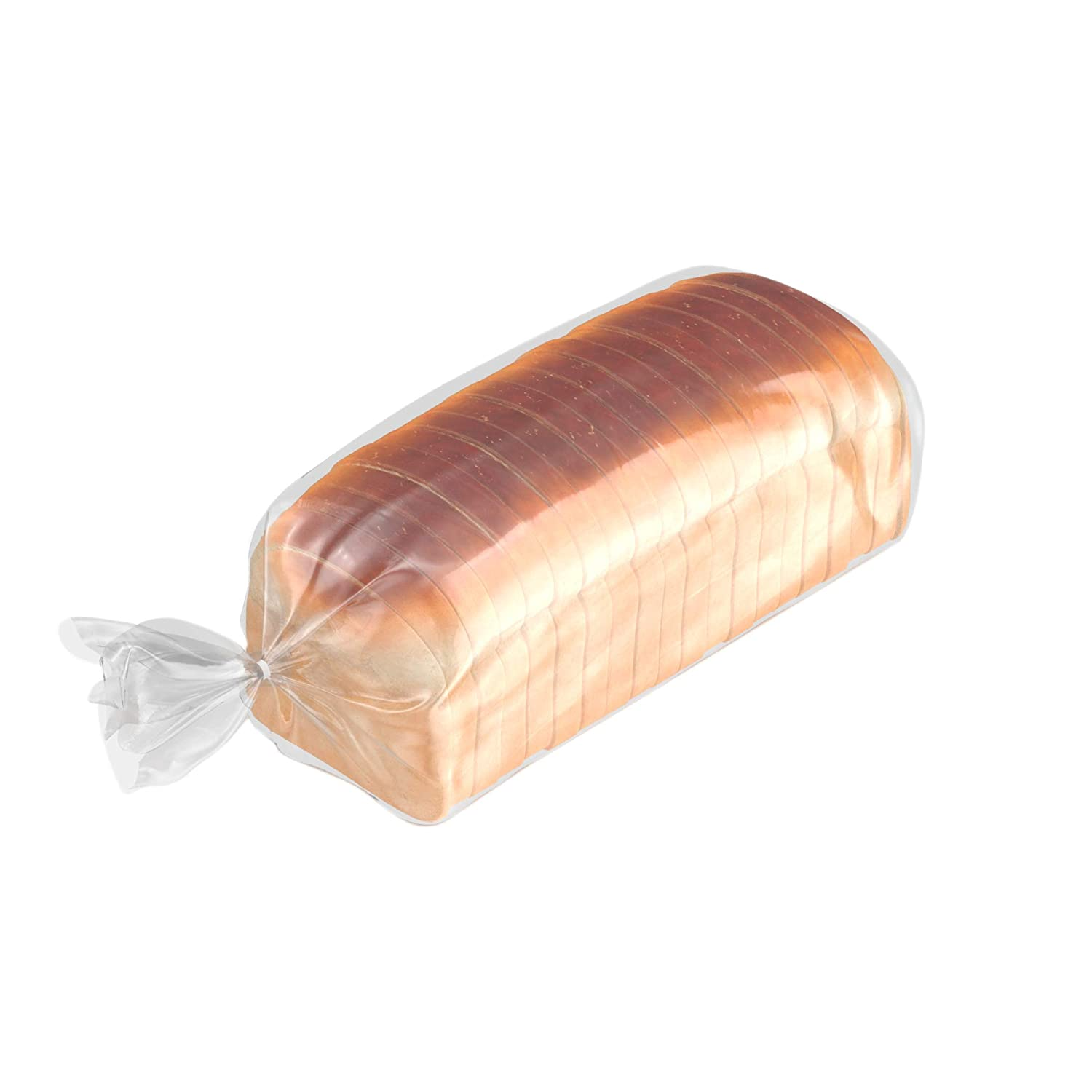 APQ Pack of 100 Poly Bakery Bread Bags 6 x 3 x 12. Ultra Thin Clear Gusseted Bags 6x3x12. 0.65 mil Thick. Polyethylene Bags for Home, Bakeries and Other Food Industry Businesses.