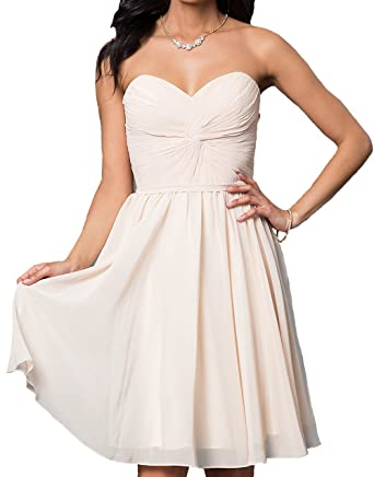 Yoghourt Blush Short Homecoming Dresses Prom Party Gowns vestidos de fiesta 0 US champagne