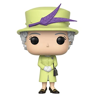 Funko Pop! Royals: Royals - Queen Elizabeth II Action Figures, Multicolor, Standard: Toys & Games