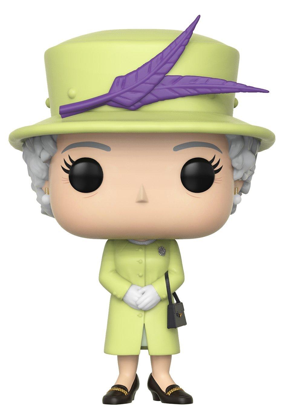 Queen Elizabeth II Action Figures Multicolor Funko Pop Royals: Royals Standard 35723