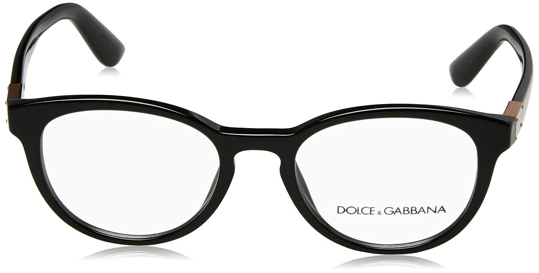 Amazon.com: Dolce & Gabbana dg3268 Lentes de la mujer, Negro ...