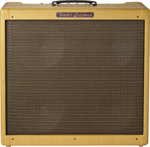 Fender '59 Bassman LTD 50-Watt 4x10-Inch Tube Bass Combo Amp ()