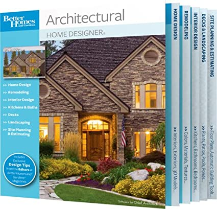 Amazon Com Better Homes And Gardens Architectural Home Designer