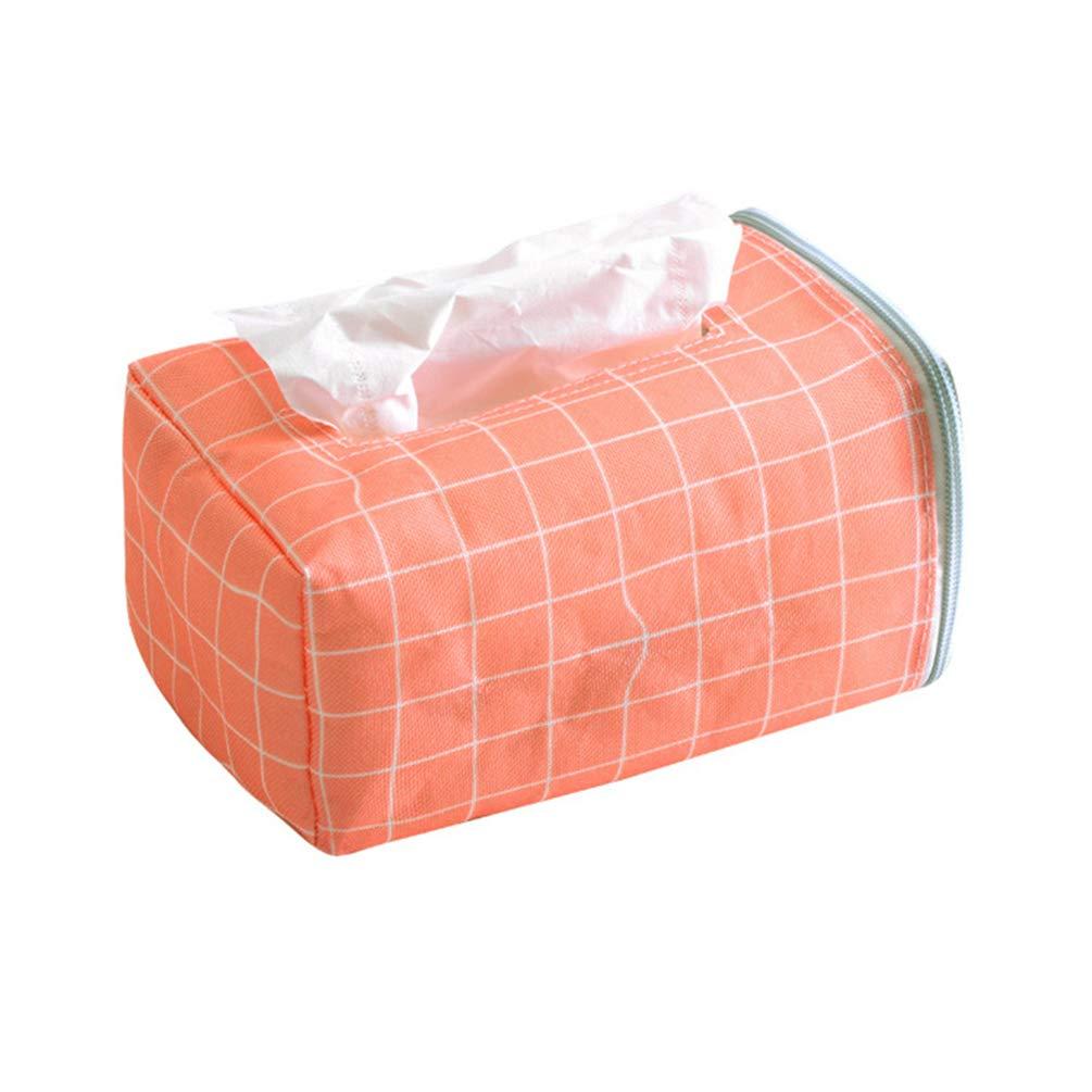 bismarckbeer Cloth Tissue Box Napkin Storage Case Holder Home Office Car Decoration