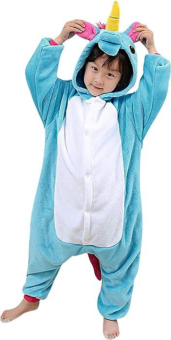 c167b2176f Dolamen Niños Unisexo Onesies Kigurumi Pijamas