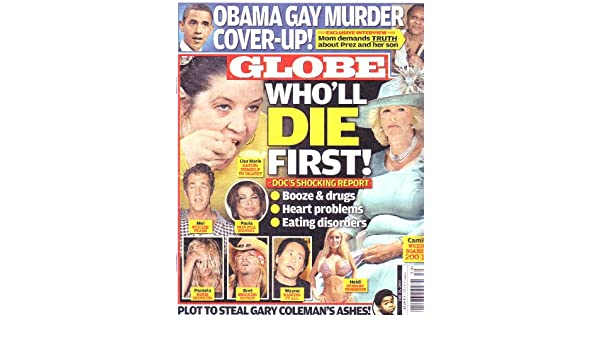 Globe tabloid obama gay