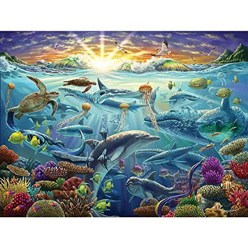 (LaFayette Puzzle Factory Ocean of Life Jigsaw Puzzle)