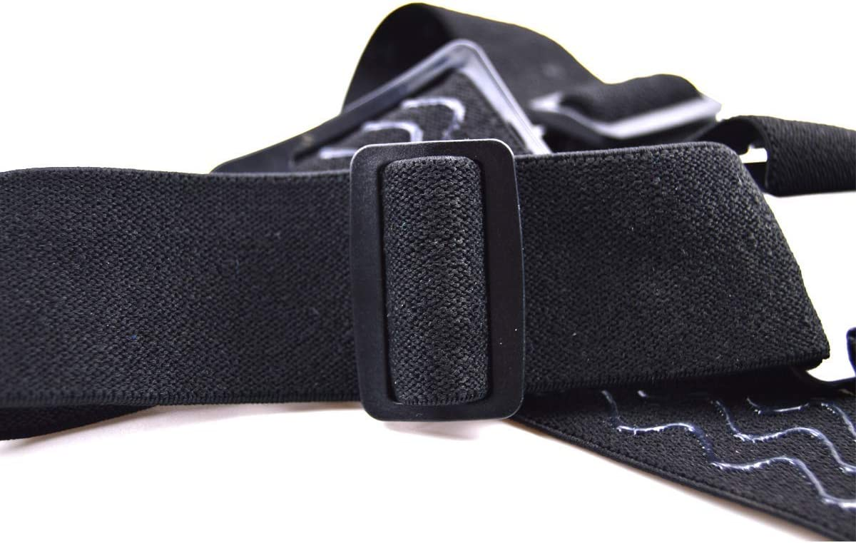 Action Camera Strap Head Camera Mount Nylon Adjustable Three Rubber Antiskid for Gopro Hero 4//3//2//1