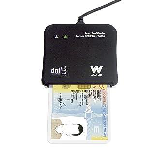 Woxter DNI Electrónico - Lector de tarjetas de memoria, color negro