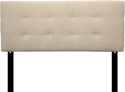 Sole Designs Ali Collection Padded Headboard Panel Hardwood Frame