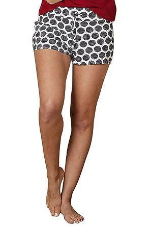 cc746ea083ac Fair Indigo Fair Trade Organic Pajama Shorts at Amazon Women s ...