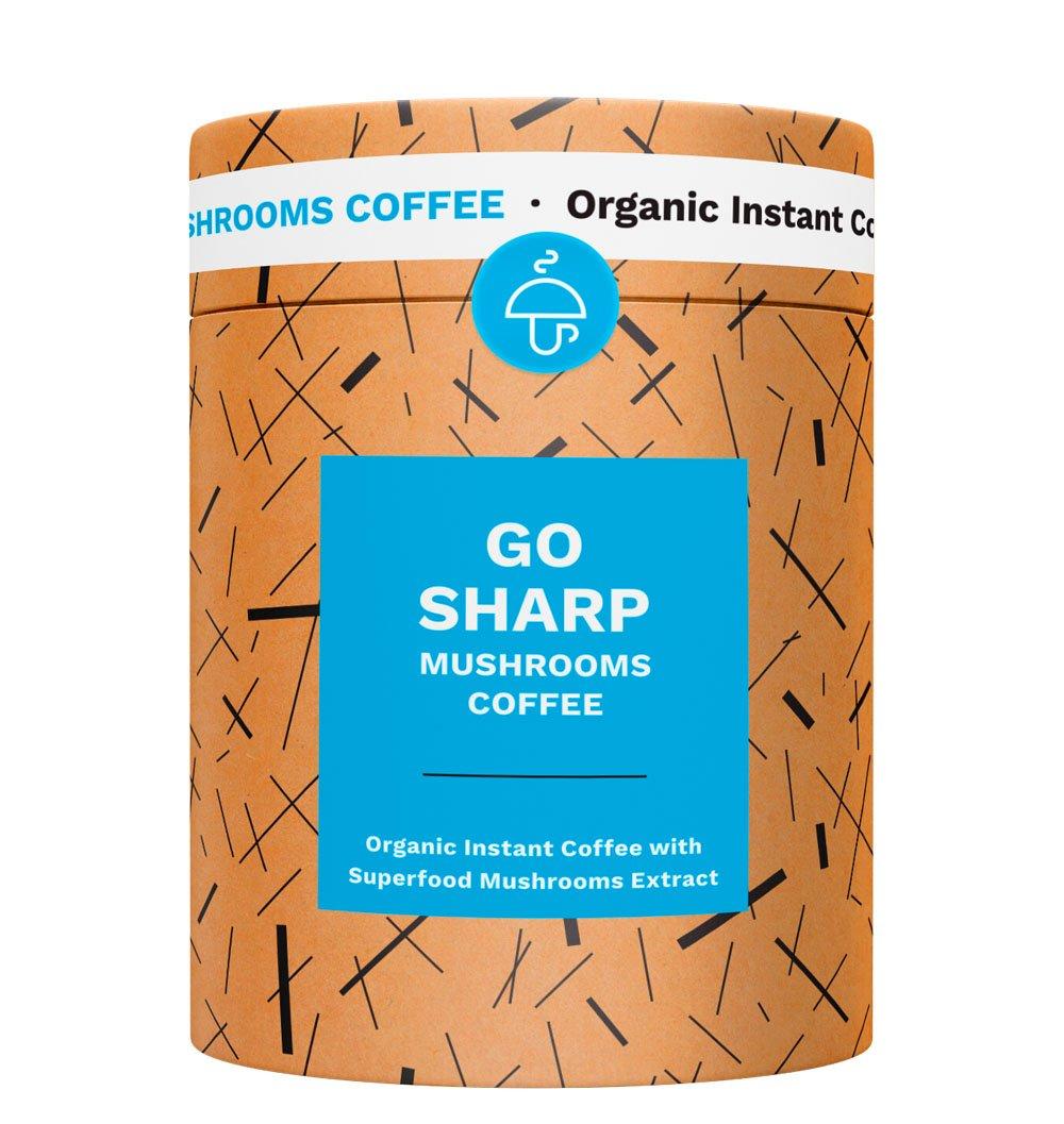 Go Sharp - Organic instant Coffee with super food Mushrooms